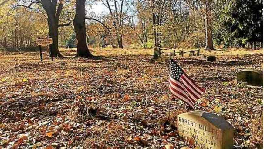 Daily Local News: Military veteran initiates cleanup of Pennsylvania cemetery