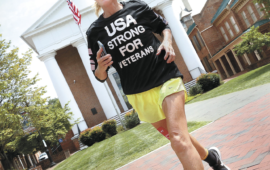 The Winchester (Va.) Star:  Calif. woman raises awareness for PTSD