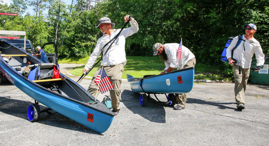 """West Fargo Pioneer: Seeking solace on the river: Warrior Expeditions helps veterans """"walk off the war"""""""